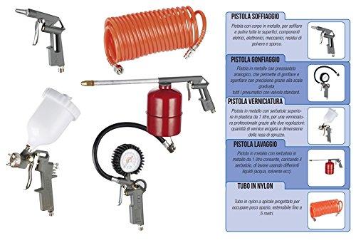 Kit von Zubehör für Kompressor 8 Bar...