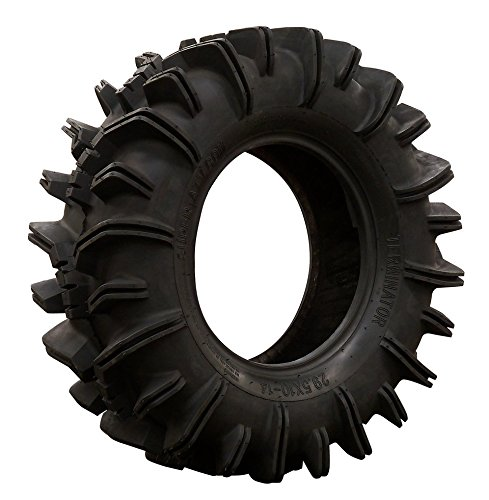 SuperATV Terminator Mud Tire - RZR, X3, General, Maverick, Ranger, Rock & All Terrain UTV - (28x10-12)