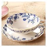Tazza Di Caffè,Tazzine Da Caffe Motivo della tazza di caffè Set Fruit Of Ceramic Cup Latte gli amanti del caffè (Color : 3)