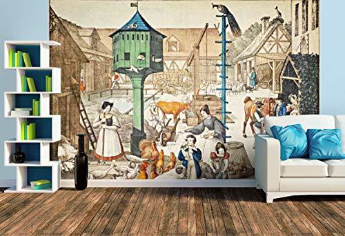 Premium Foto-Tapete Foto-Tapete (versch. Größen) (Size L   372 x 248 cm) Design-Tapete, Wand-Tapete, Wand-Dekoration, Photo-Tapete, Markenqualität von ERFURT