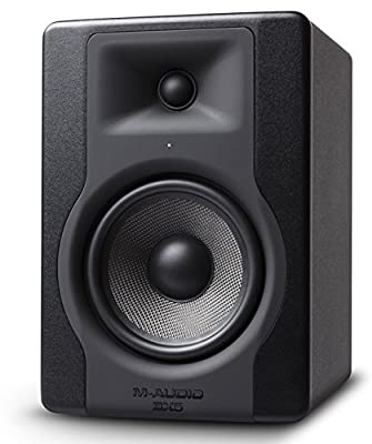 "M-Audio BX5 D3| Compact 2-Way 5"" Active Studio Monitor Speaker for Music Production and Mixing With Onboard Acoustic Space Control by inMusic Brands Inc."