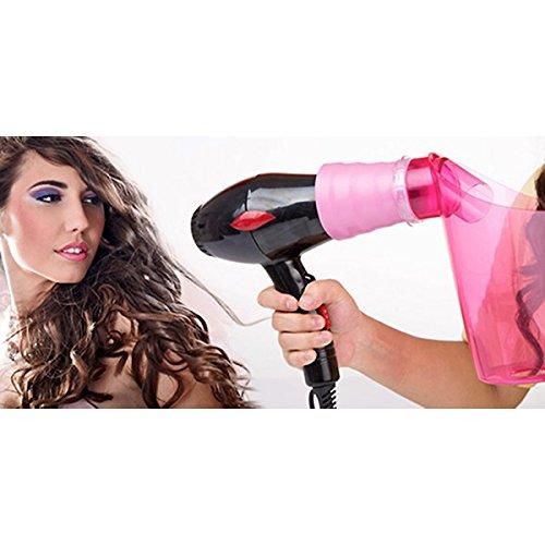 Air curler diffusore beccuccio arricciacapelli da lisci a mossi in pochi secondi boccoli ricci MWS