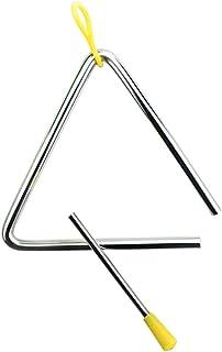 """ضرب آهنگ فولادی موزیکال موسیقی روشنایی مثلث کودکان Onwon 5 """"با مجموعه سازهای ضربی"""
