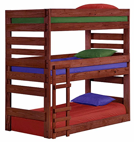 Cass County Twin Triple Bunk Bed