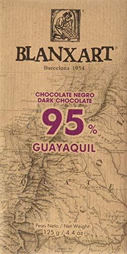 Blanxart Tableta de Chocolate Negro - Guayaquil 95% Cacao 1 Unidad 125 g