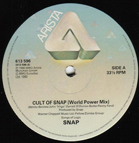 Snap - Cult Of Snap (World Power Mix) - Arista - 3