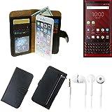 K-S-Trade® Wallet Case Protective Pocket For Blackberry