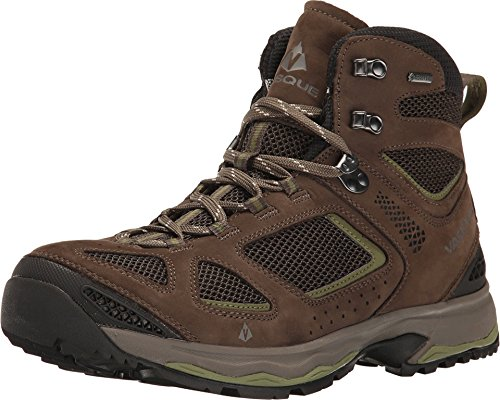 Vasque Mens Breeze III GTX Gore-tex Waterproof Breathable Hiking Boot, Brown Olive/Pesto, Size 7 M