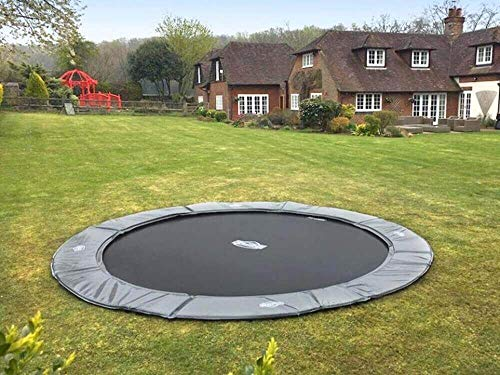 BERG Trampoline Flatground Elite round 330 | Premium Trampoline, Kids trampoline, Lifetime Warrenty, Outdoor Trampoline, Sports Trampoline, Jump higher with TwinSpring and Airflow