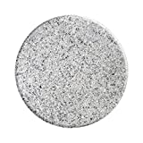 Stardust, Gloss, 16', Cultured Granite, Crater, Lazy Susan, Turntable