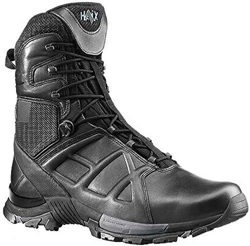 Haix schwarz Eagle Tactical 20 High Wetterfester Arbeitsschuh  Funktionsschuh für Polizisten, Soldaten und