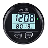 GPS Speedometer Boat Motorcycle Marine - Searon MPH/KPH Backlight Digital Speed Meter Counter Waterproof with High Speed Recall for ATV UTV Motorcycle Automobile Motor Vehicle