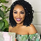 8 Packs Passion Twist Hair 8 Inch Pre-twisted Passion Twist Crochet Hair...
