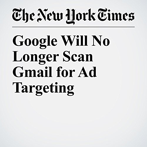 Google Will No Longer Scan Gmail for Ad Targeting copertina