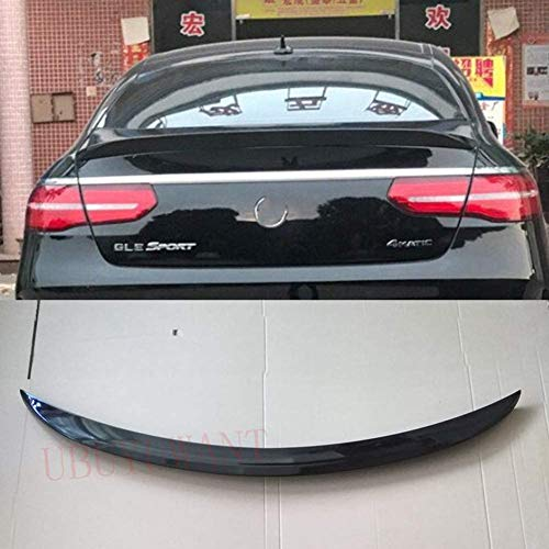 ZQTG Geeignet Für Mercedes Benz C292 Gle Coupé Spoiler 2016 2017 2018 Abs Auto Heckspoiler Dekorativer Kofferraumspoiler