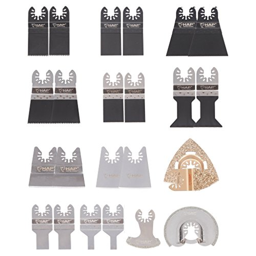 Sale!! Harpow 24 Pcs Oscillating Tool Blades Kit