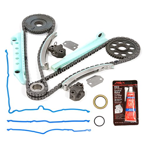 Evergreen TKTCS6046W 97-13 Ford Lincoln Mercury 4.6 SOHC 16V WINDSOR Timing Chain Kit Timing Cover Gasket