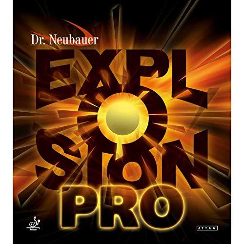 DR. NEUBAUER Belag Explosion Pro (Kurznoppe) Optionen 1,5 mm, schwarz