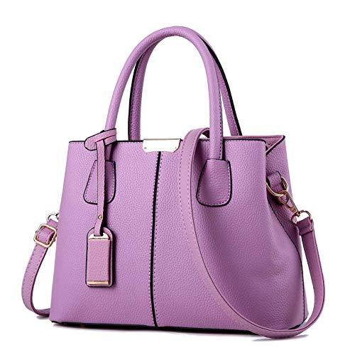 N-B Women Top Handle Handbags Elegant Leather Shoulder Messenger Bagsfor Young Ladies