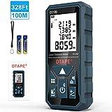 Entfernungsmesser, DTAPE DT100 100M Digitales Laser Entfernungsmesse mit LCD Hintergrundbeleuchtung...