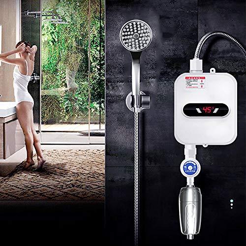 3500w Grifo De Agua Caliente InstantáNea Mini Calentador De Agua Termostato CalefaccióN...