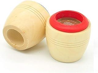 Oniorマジック ミツバチ 目 万華鏡 木製 子供 おもちゃ 多彩の世界のプリズム 子供 プレゼント 2Pcs