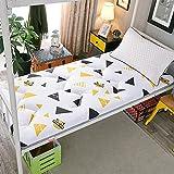 ZH Boden Tatami-Matte, Schlafmatratzenauflage Pad Folding Dicker, Futon-Matratze Kissen, Studentenwohnheim Schlafmatte (Color : G, Size : 0.9m Bed) - 3