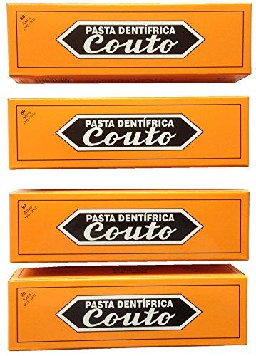 Couto Traditionell Zahncreme Minze 60g (4 Stück)