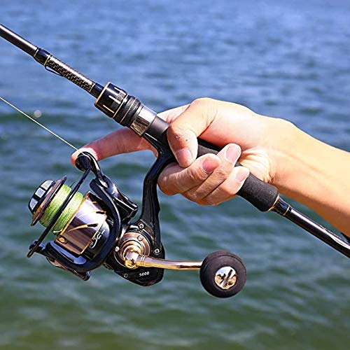 Carretes de pesca, carrete de pesca, carrete de pesca, agua salada, rodamiento de bolas, carrete de pesca intercambiable a izquierda y derecha (HE-6000)