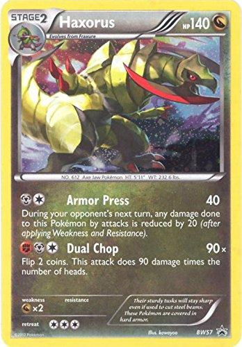 Pokemon - Haxorus (BW57) - BW Black Star Promos - Holo