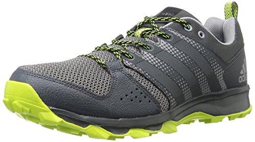 adidas Men's Galaxy M Trail Runner, Urban Trail/Tech Grey/Electricity, 11 M US
