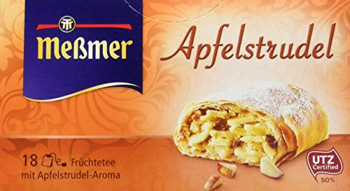 Meßmer Apfelstrudel, 18 Beutel, 10er Pack (10 x 40,5 g)