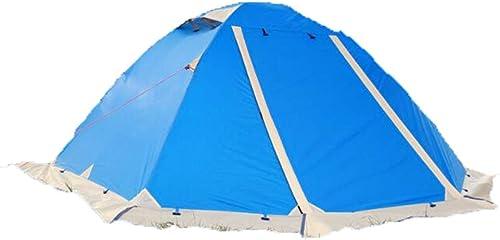 JW-DDP Tente de Camping de Jupe de Neige, Double-Couche extérieure Polonais en Aluminium imperméable au Vent et au Vent