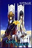 Code Geass notebook: command you to do not touch this book: Anime Code Geass Lined notebook (120 Pages, Lined, 6 x 9) ,code geass manga