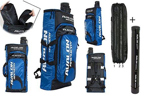 Avalon New Classic Rucksack Bogenrucksack mit Pfeilröhre blau