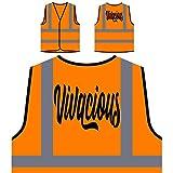 Vivaz Chaqueta de seguridad naranja personalizado de alta visibilidad t389vo