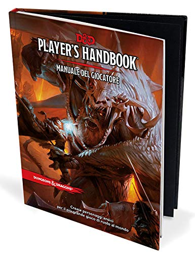 DUNGEON & DRAGON PLAYER'S HANDBOOK MANUALE DEL GIOCATORE