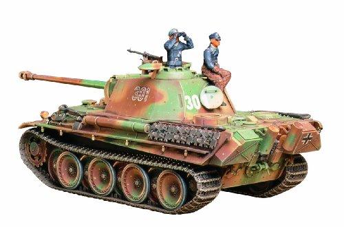 タミヤ 1/35 ミリタリーミニチュアシリーズ No.176 ドイツ陸軍 中戦車 パンサーG 後期型 プラモデル 35176