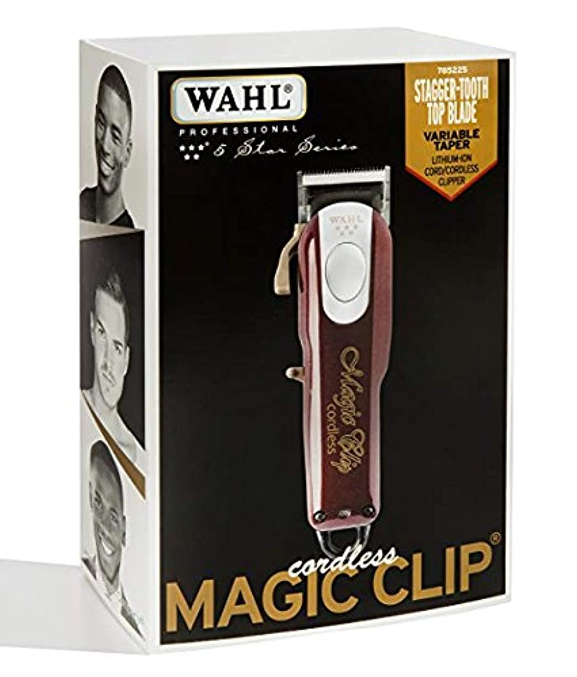 [Wahl] [すばらしいです 専用 理髪店とスタイリスト - 90分以上の実行時間 / Professional 5-Star Cord/Cordless Magic Clip #8148] (並行輸入品)