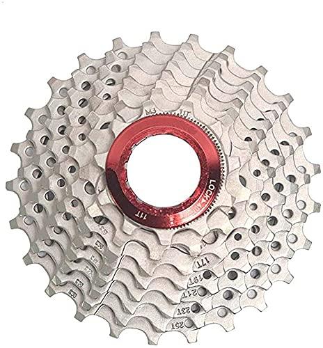 YOOBB Cassette De La Carretera De 8 Velocidades Vuelo 25t24-velocidad Cassette Engranaje Accesorios De Bicicleta Sprocket Mountain Bike Freewheel Piezas De Bicicleta para Shim Sr