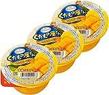 くだもの屋さん マンゴーゼリー 黄桃・ナタデココ入り 160g×6個