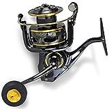Black Cat FD 680 Buster Spin - Spinnrolle für Waller, Angelrolle zum Spinnfischen auf Wels, Wallerrolle zum Blinkern
