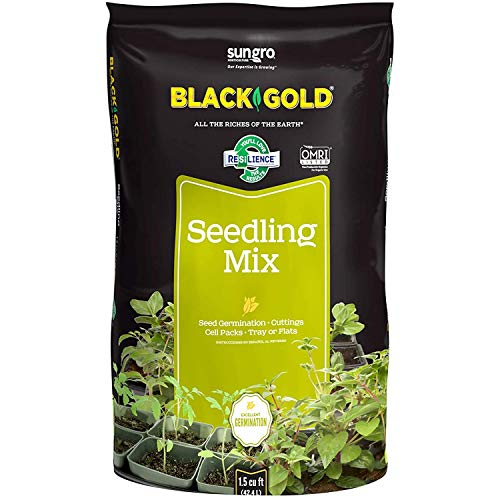 Sun Gro Seedling Mix, 1.5 Cu. Ft., Black Gold-(1411002.CFL001.5P)