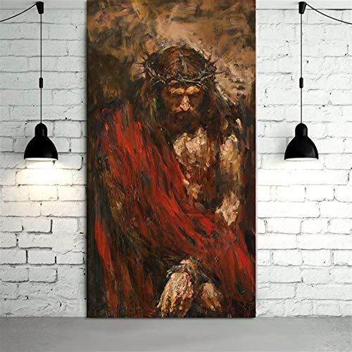 Tela Ecce Homo Da Anatoly Shumkin HD Stampa Pittura Gesù Cristo Olio Su Tela Di Canapa Di Arte Di Stampa Della Decorazione Della Casa Della Tela Di Canapa Arte Della Parete Della Pittura JYSLR023 Di a