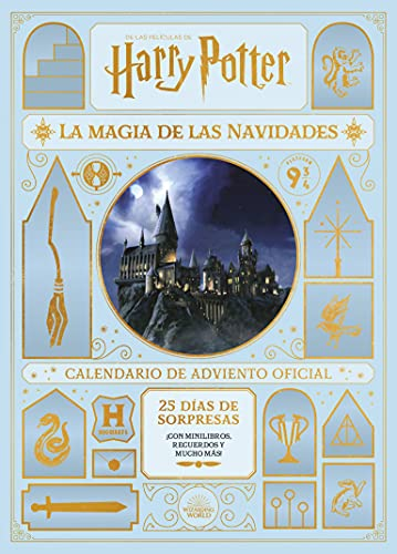 HARRY POTTER: LA MAGIA DE LAS NAVIDADES. EL CALENDARIO DE ADVIENTO OFICIAL 2021