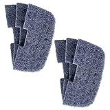 Finest Aquatics 6 almohadillas de filtro de nitrito compatibles con Fluval 106 107 206 207
