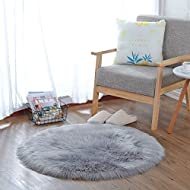 Perfect for putting it in your kids room,living room,bedrooms ,playing room adding extra modern to your decor and turns your room into an inviting space with this simple yet classy elegant design. Material: Front side: Artificial Animal Wool; Back si...