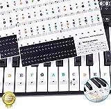 Sparta's Store keyboard aufkleber,klavier aufkleber kinder,piano stickers for keys,Keyboard Noten...