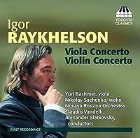 レイヘルソン:ヴァイオリン協奏曲&ヴィオラ協奏曲