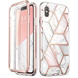 i-Blason iPhone XS ケース,iPhone X ケース, 液晶保護フレーム付き 米軍MIL規格取得 耐衝撃 防塵デザイン (2018 Release)